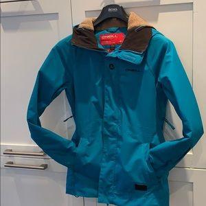 O'Neill snowboarding jacket - Teal women's XS